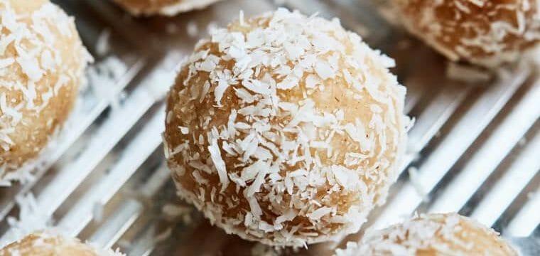 Coconut Snowballs (A Healthy Snack)