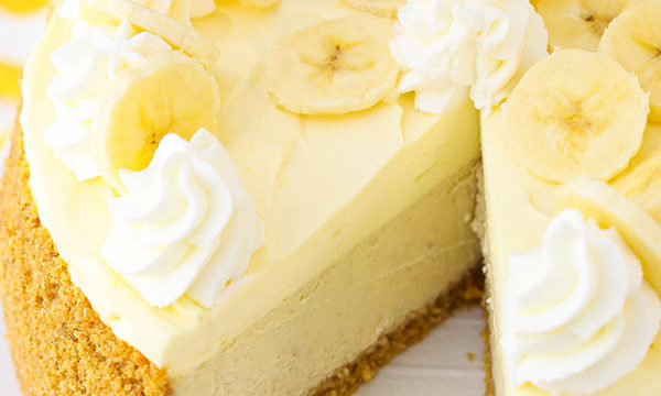 Best Banana Cream Cheesecake Recipe Ever Invented