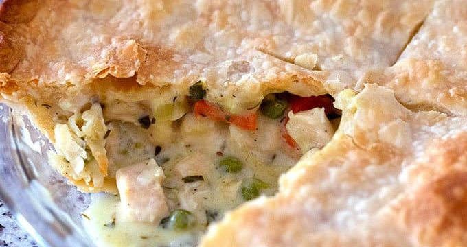Chicken Pot Pie (Simple And Delicious)