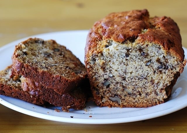 banana bread walnut