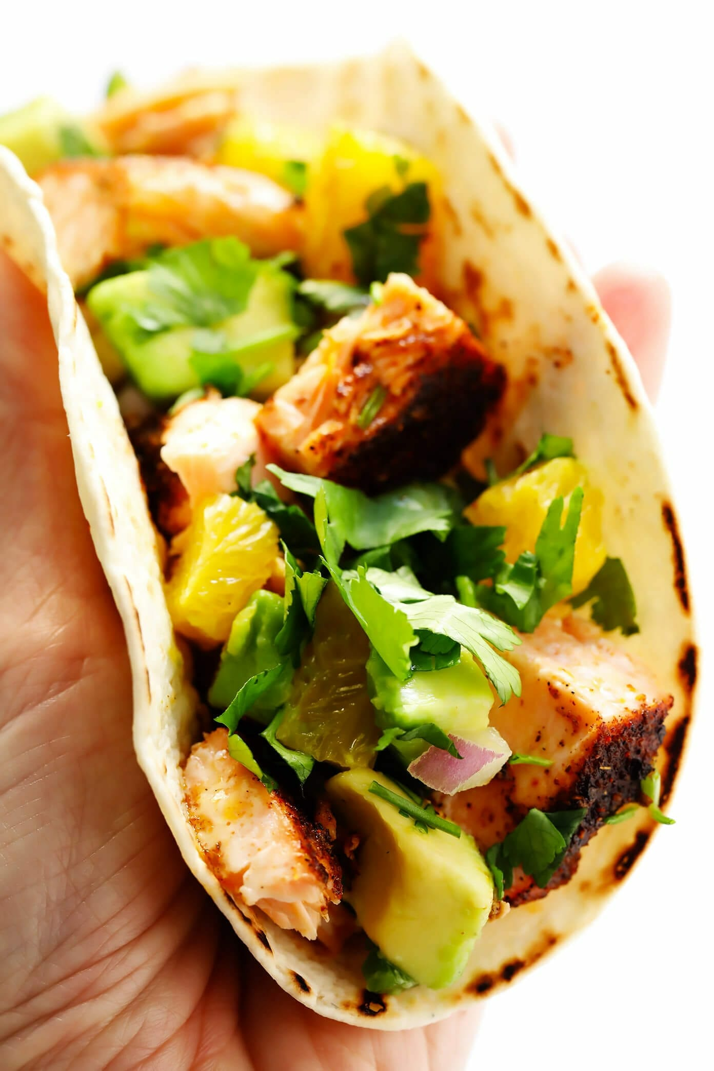 how to make fish tacos with salmon