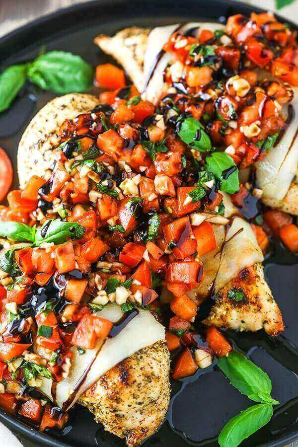 Italian Herb Bruschetta Chicken Recipe
