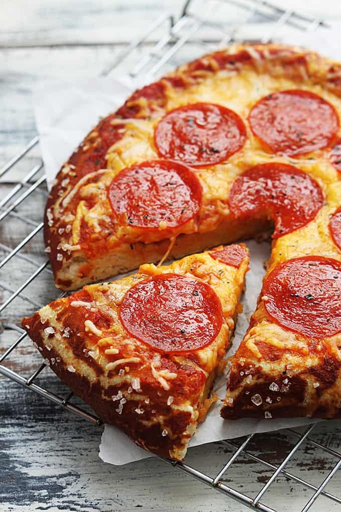 How To Make Pretzel Crust Pizza