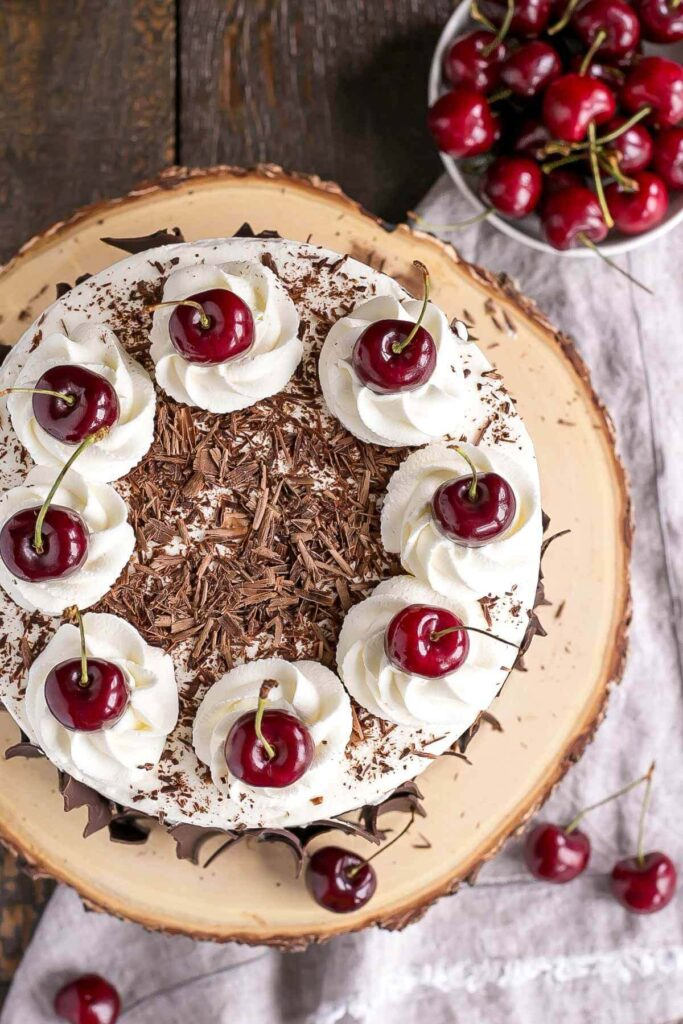 How To Make Black Forest Cherry Cake