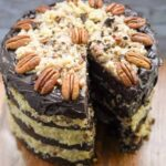 German chocolate cake recipe with cocoa powder