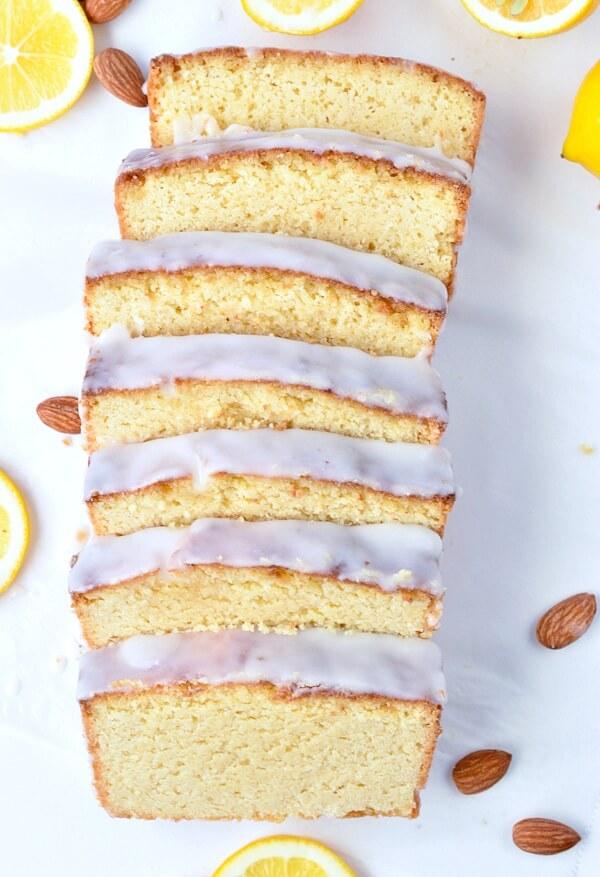Low Carb Lemon Drizzle Loaf Cake